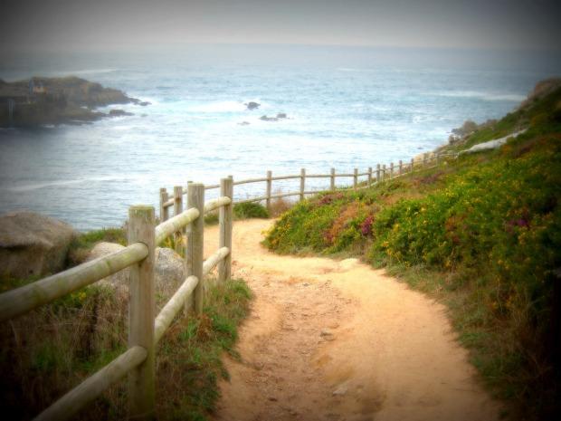 Caminito agreste... y oceánico.